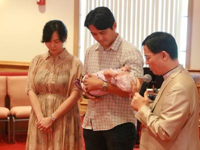 도유나 아기 첫 예배 / 2017년 7월 2일