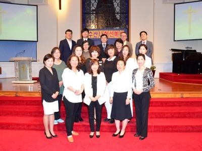 수산나 선교회 헌신예배 / 2017년 2월 12일
