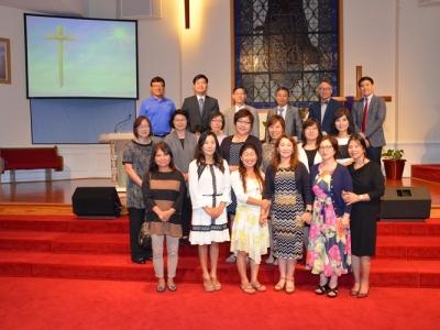 에스더 선교회 헌신예배 / 2017년 4월 9일