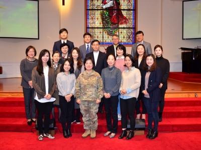 룻 선교회 헌신예배