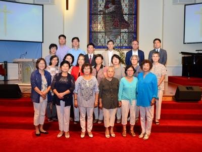 마리아 선교회 헌신예배 / 2017년 8월 6일